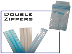 Double Profile Zippers