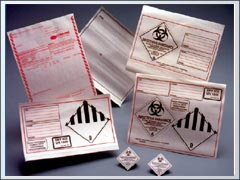 INF-9800 Infecon Dangerous Goods Declaration Form