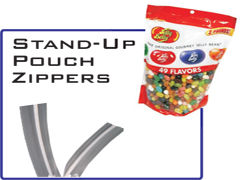 Stand-Up Pouch Zippers